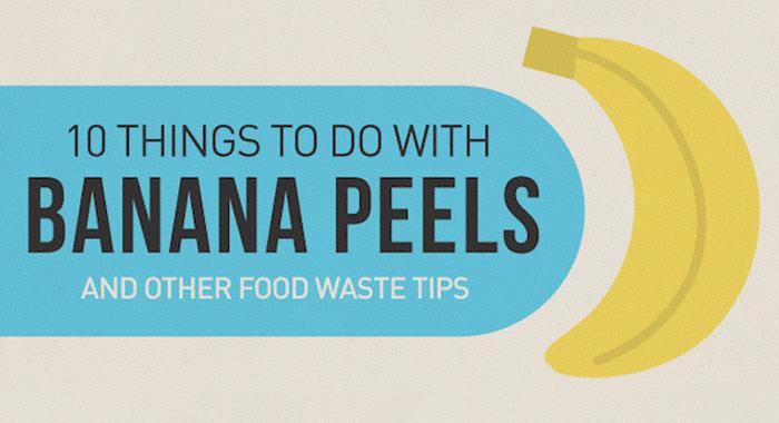 Waste Not = Banana Peels