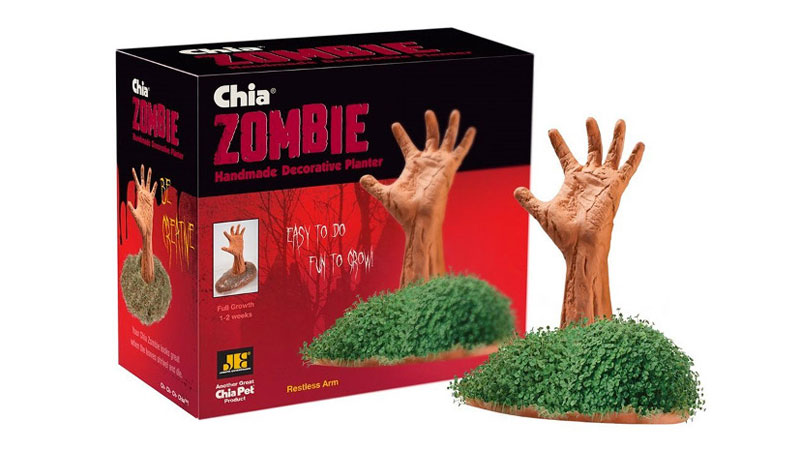 Chia Pet Zombies Are A Halloween Must Have