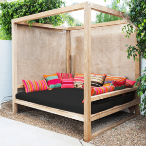 Boho Outdoor Bed