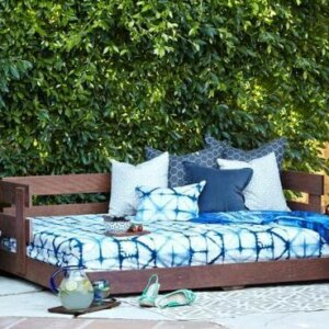Grounded Outdoor Bed