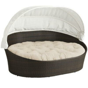 Oversized Cushion Outdoor Bed