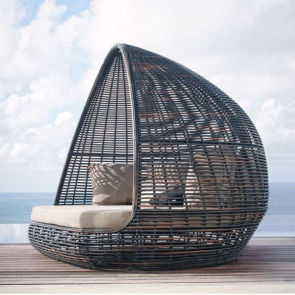 Shaded Pod Outdoor Bed