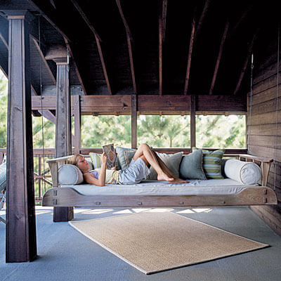Understated Outdoor Bed