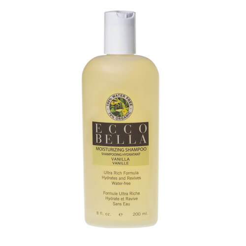 ecco bella organic vanilla shampoo
