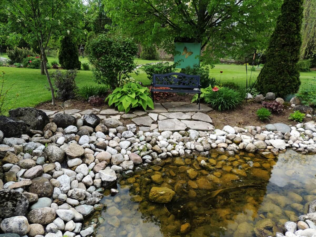 Rock Garden: How To Build Your Own • Insteading on Backyard Rocks  id=81601