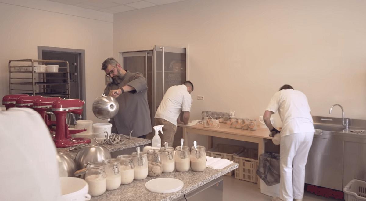 feeding sourdough starters