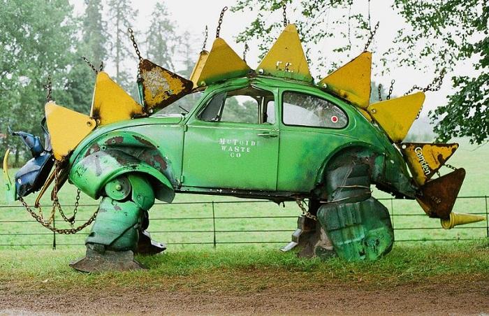 car parts art