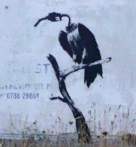 banksy gasbird