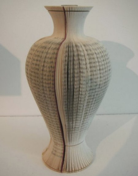 vases from old books