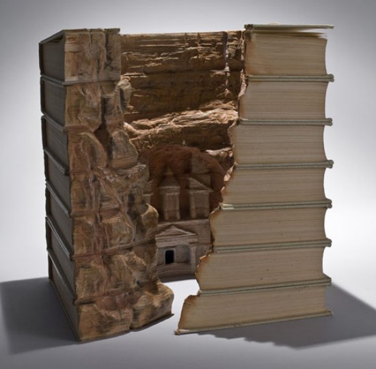 reuse book art