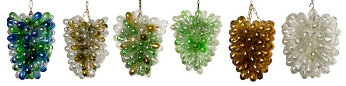 recycled glass art insteading