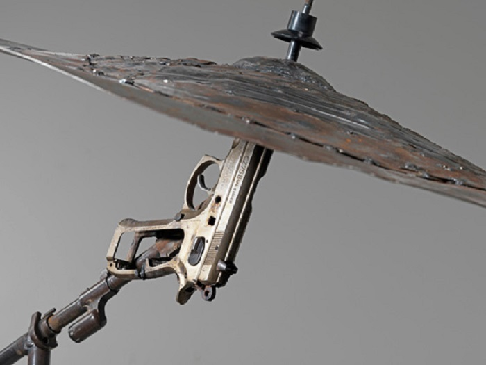 guns as art