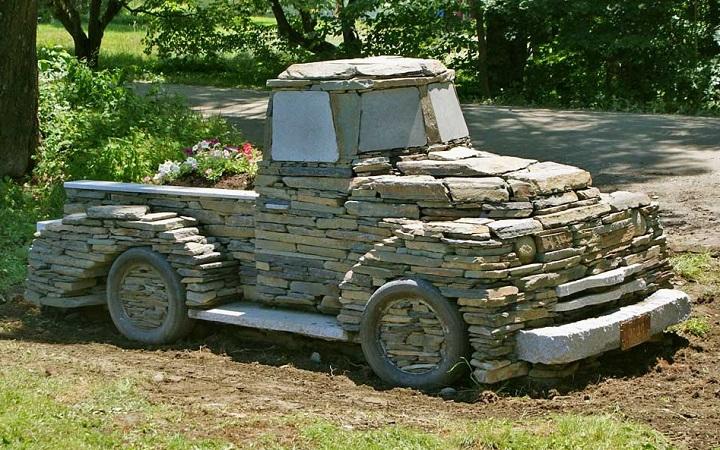 stone truck