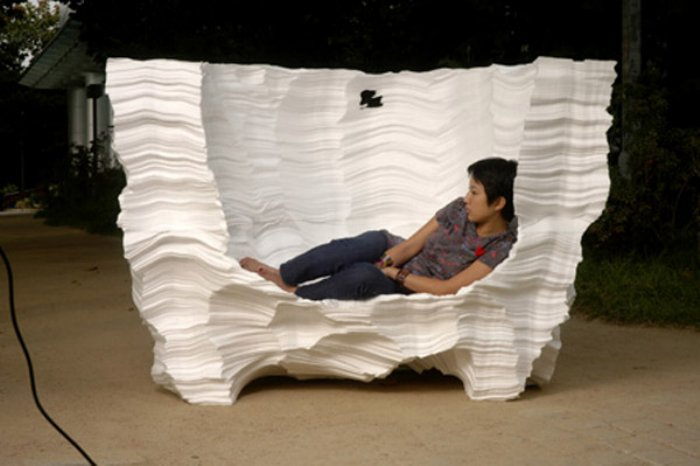 styrofoam furniture