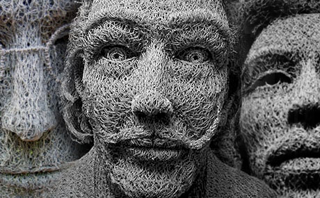 chicken wire sculpture