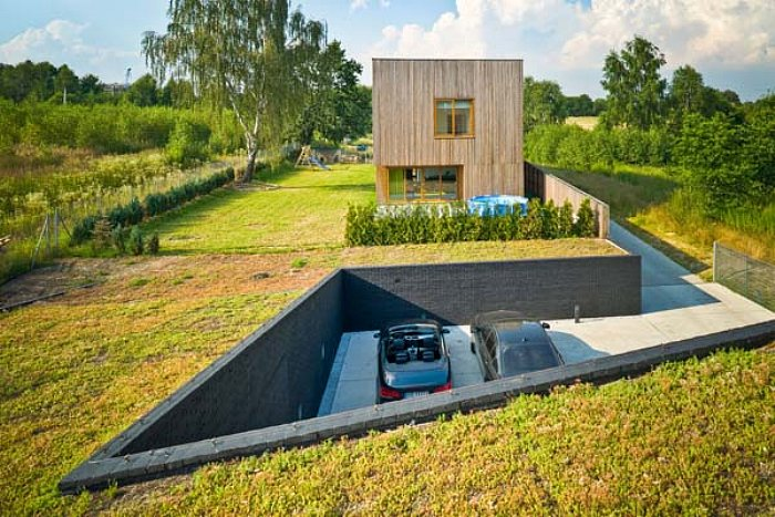 green roof poland