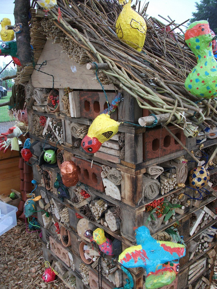 Bug Hotel Created By Kids At The Rhs Flower Show Tatton Park More Information About This Photograph Can Be Found On Flickr