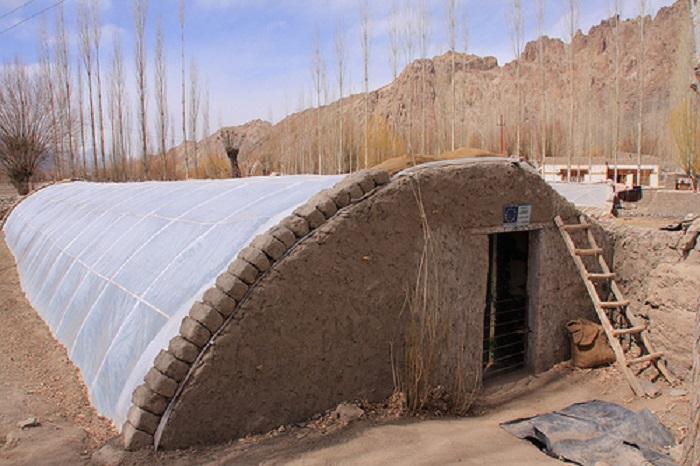 pit greenhouse