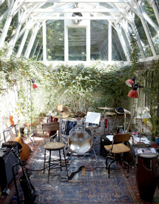 A Pit Greenhouse For Musicians.