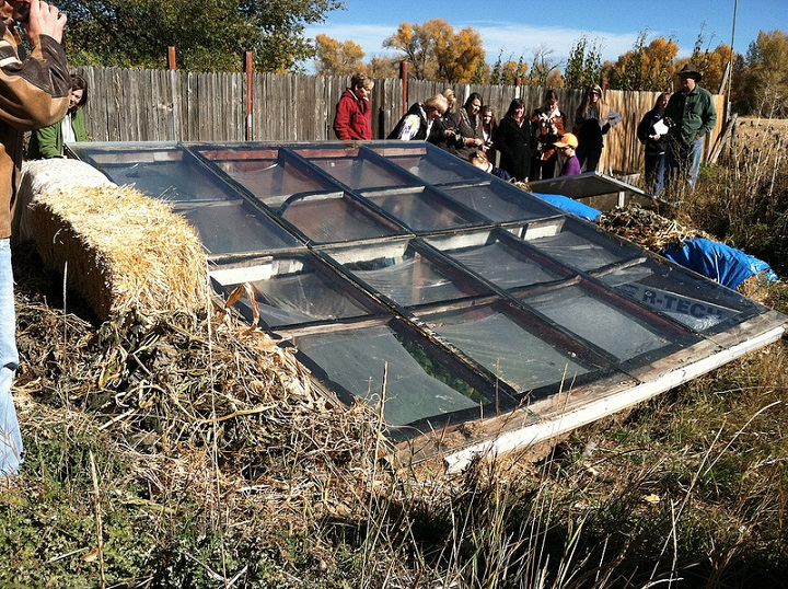 pit greenhouse