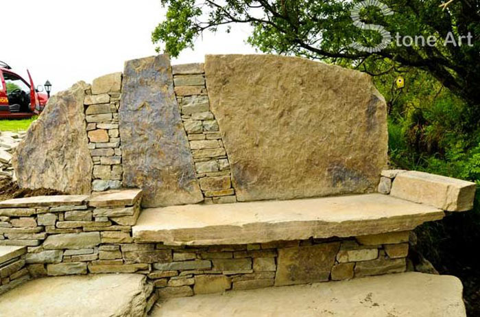 stone furniture