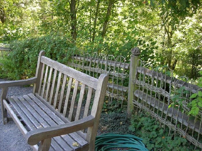 wattle fence