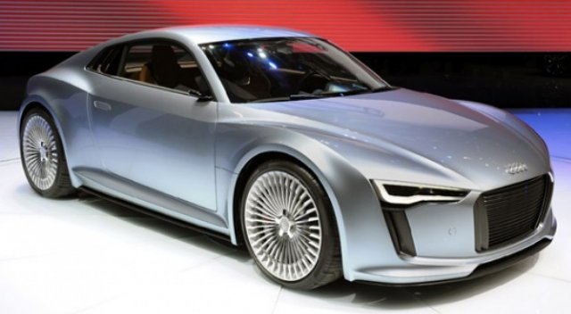 Audi E Tron. A High Performance Sports Car ...