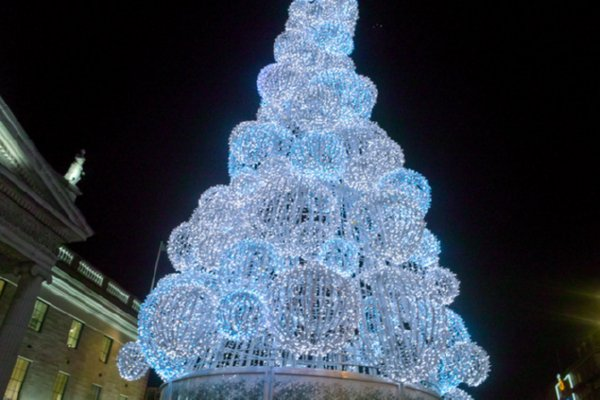 Try an eco friendly christmas tree insteading Christmas tree ideas using recycled materials