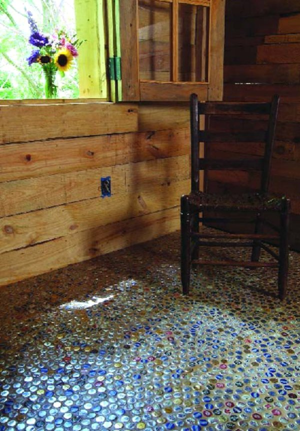 bottle cap furniture