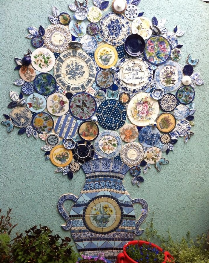 broken china mosaic
