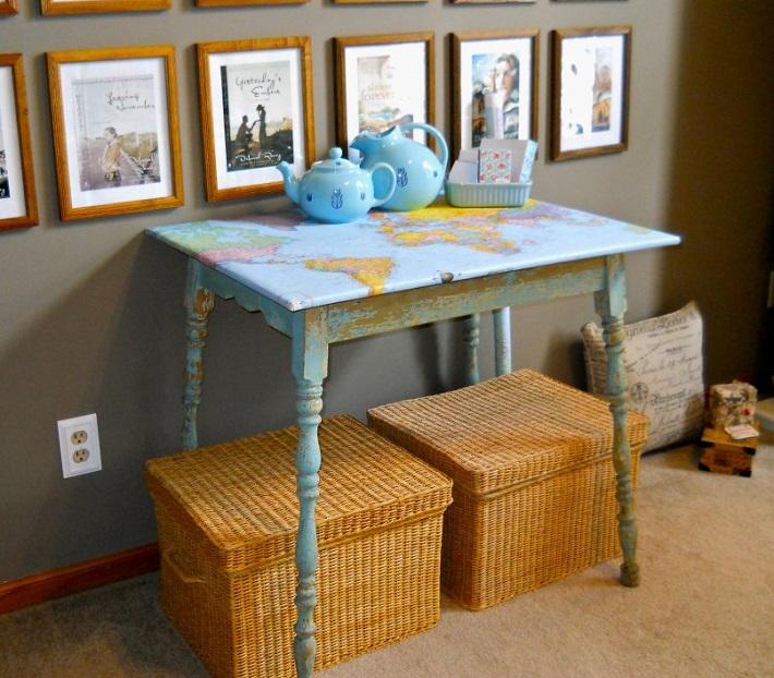map furniture