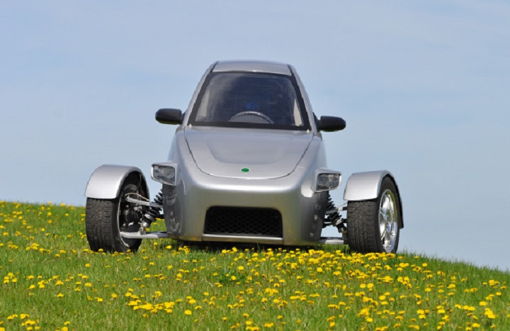 electric 3 wheel car