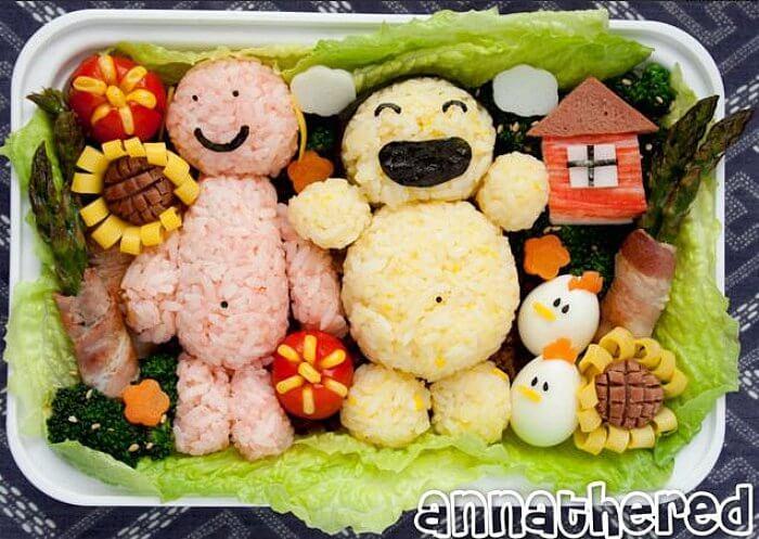 anna-bento-rice-snowmen