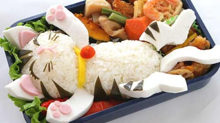 bento-box-rice-mozzarella-cat