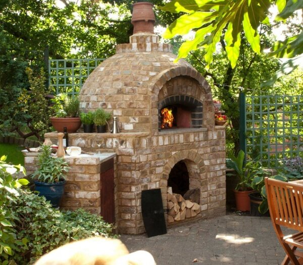 Outdoor Brick Ovens Insteading