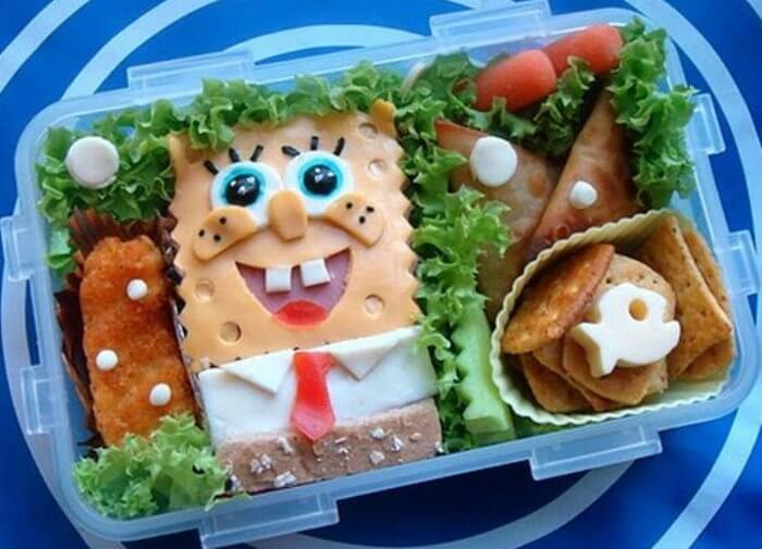 spongebob-bento
