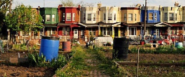 an urban farm in Philadelphia